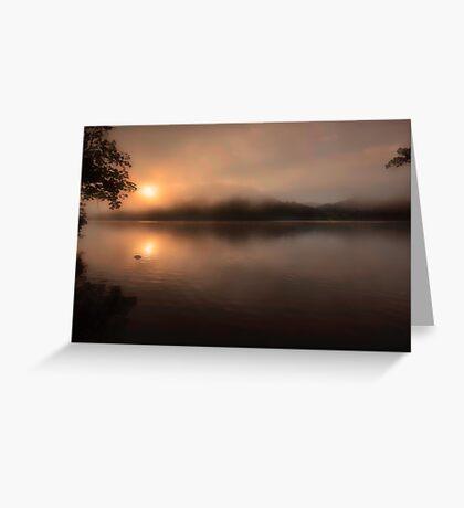 Ullswater Morning Greeting Card