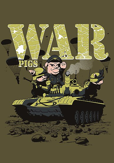 WAR PIGS by Adams Pinto