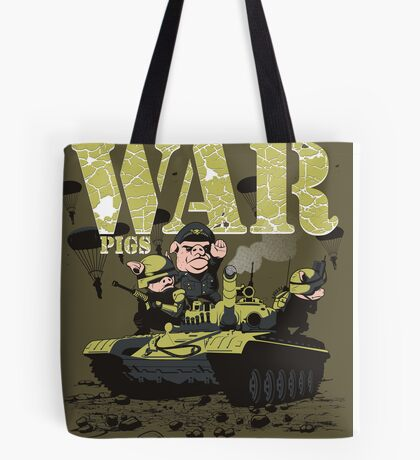 WAR PIGS Tote Bag