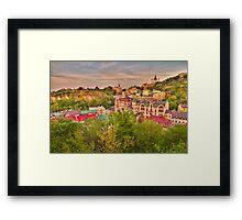 Landscape Valley Framed Print