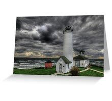 Tibbett's Point Lighthouse Greeting Card