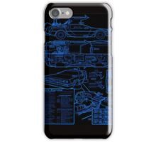 BTTF DELOREAN iPhone Case/Skin