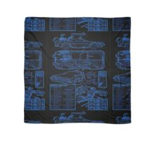BTTF DELOREAN Scarf