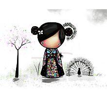 patchwork kimono Photographic Print