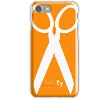 Running with scissors iPhone Case/Skin