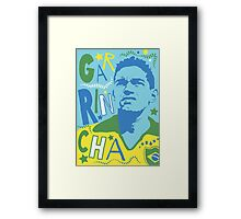 Garrincha Framed Print