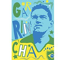 Garrincha Photographic Print