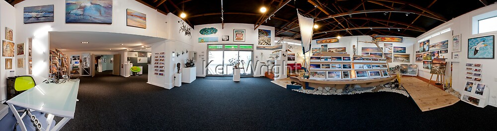 Lightwave Gallery ~ Open for Business by Ken Wright