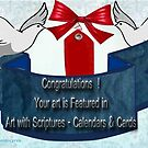 Featured Banner for Art with Scriptures Calendars & cards  by aldona