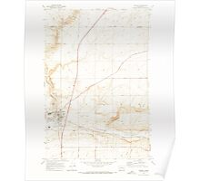 USGS Topo Map Washington State WA Connell 240641 1970 24000 Poster