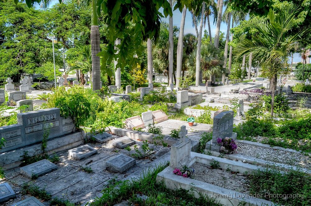 Eastern Cemetery (The Grassy Cemetery) in Nassau, The Bahamas by Jeremy Lavender Photography