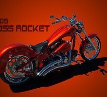 2005 Boss Rocket Custom Motorcycle by TeeMack