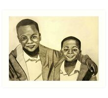 'Because Brothers Stick Together' Art Print
