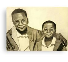 'Because Brothers Stick Together' Canvas Print