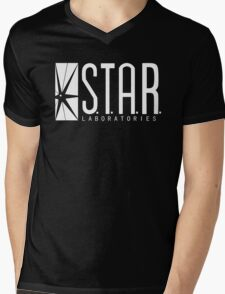 The Flash - Star Labs Mens V-Neck T-Shirt