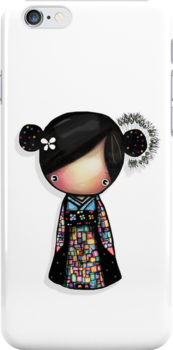 patchwork kimono iPhone and iPod case by © Karin Taylor
