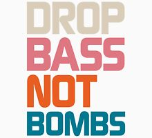 Drop Bass Not Bombs (Antique) Unisex T-Shirt