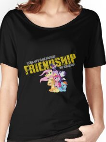 FRIENDSHIP Women's Relaxed Fit T-Shirt