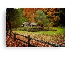 Autumn At Cuttalossa Farm V Canvas Print