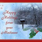 Happy Holidays From Mailman by budrfli