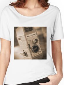 8mm Movie Camera Women's Relaxed Fit T-Shirt