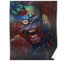 Abstract Zombie Poster