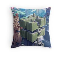 Deco City Throw Pillow