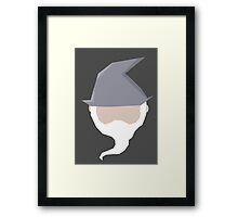 Gandalf ball Framed Print