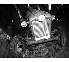 A Country Tractor Photographic Print