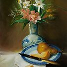 Still life with pears by vaskoni
