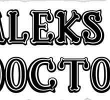 Daleks & Doctors Sticker