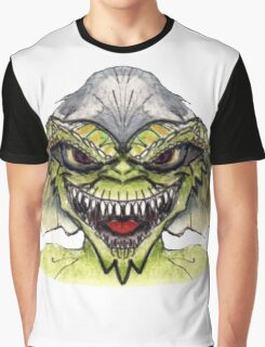 Gremlin's Stripe (Specially Detailed) Graphic T-Shirt