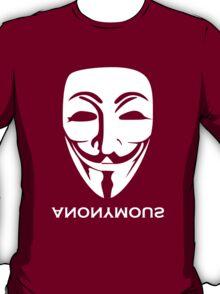 ANONYMOUS [white] T-Shirt