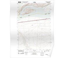 USGS Topo Map Washington State WA Crow Butte 20110903 TM Poster