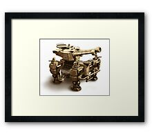 Escort Elephant Framed Print