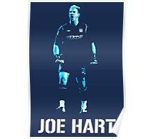 Joe Hart Manchester City Poster