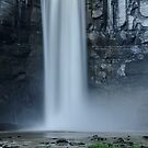 Taughannock Falls - Between Storms by Stephen Beattie