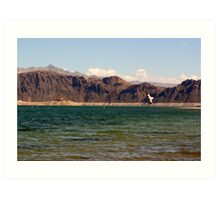 Lake Mead, Nevada Art Print