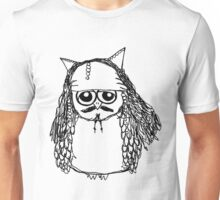 Captain Jack Sparrow Owl Unisex T-Shirt