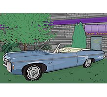 1969 Chevrolet Impala : Fast Cars & Cool Duco Photographic Print