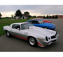 American Muscle Cars  Photographic Print