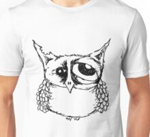 Hangover Owl Unisex T-Shirt