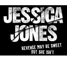 Jessica Jones - Sweet Revenge Photographic Print