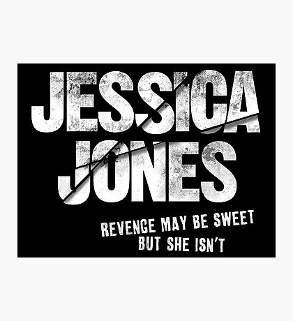 Jessica Jones - Sweet Revenge Photographic Print