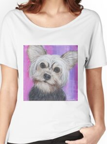 Yorkie Women's Relaxed Fit T-Shirt