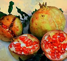 RIPE POMEGRANATES by RonelBroderick