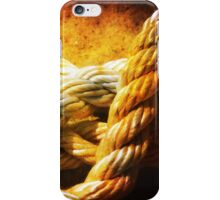 Heavy ropes iPhone Case/Skin