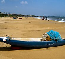 Boats and bikes on the beach..Sri Lanka. by ronsaunders47