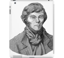 Benedict Cumberbatch Sherlock Holmes (Specially Detailed) iPad Case/Skin
