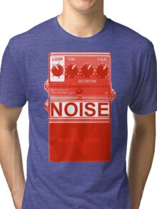 Noise pedal - red - Tri-blend T-Shirt